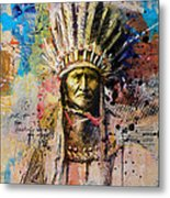 First Nations 6 Metal Print