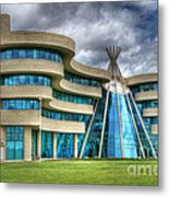 First Nations University Of Canada Metal Print