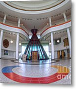 First Nations University Of Canada Interior Metal Print