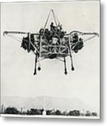 """First Official Picture Of Britain's """"flying Bedstead"""" Metal Print"""