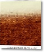 First Picture From Mars 3 Probe Metal Print