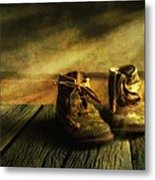 First Shoes Metal Print by Veikko Suikkanen