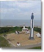 First State Landing  Lighthouse Metal Print