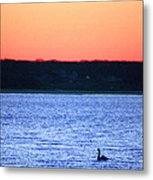 First To Sea Metal Print