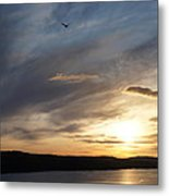 Firth Of Forth In The Sunset Metal Print