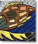 Fish File Codex The Mother Word 25 Metal Print
