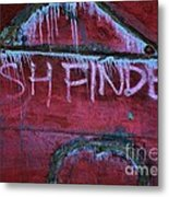 Fish Finder Metal Print