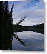 Fish Lake At Nordegg 05 Metal Print