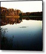 Fish Lake Evening Metal Print
