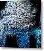 Fish Net Santorini Island Greece  Metal Print