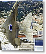 Fish Out Of Water Metal Print