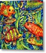 Fish Tales IIi Metal Print