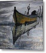 Fishboat Metal Print
