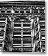 Fisher Building - 10.11.09_028 Metal Print