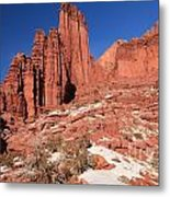 Fisher Towers Amphitheater Metal Print