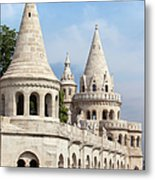Fisherman Bastion In Budapest Metal Print