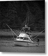 Fisherman's Catch Metal Print