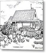 Fisherman's Cove Manasquan Nj Metal Print