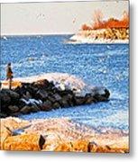 Fishermans Cove Metal Print