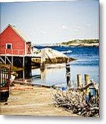 Fisherman's Cove Metal Print