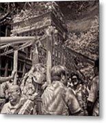 Fisherman's Feast North End Of Boston Metal Print by Joann Vitali