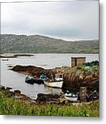 Fishermans Landing Metal Print