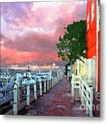 Fisherman's Village Marina Del Mar Ca Metal Print