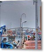 Fisherman's Wharf Taiwan Metal Print