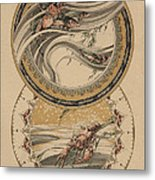 Fishes And Lobster Metal Print