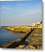 Fishing - Alexandria Egypt Metal Print