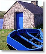 Fishing Blues Metal Print
