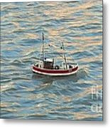 Fishing Boat Jean Metal Print