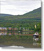 Fishing Boat On Kenmare River West Kerry Metal Print