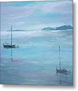 Fishing Boats Metal Print by Dorothy Herron