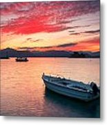 fishing boats 'II Metal Print