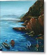 Fishing Boats Of Rio Maggiore Metal Print