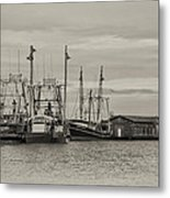 Fishing Boats - Wildwood New Jersey Metal Print