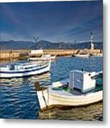 fishing boats 'XIII Metal Print