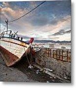 fishing boats 'XVI Metal Print