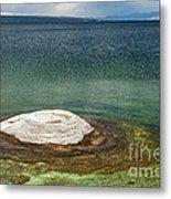 Fishing Cone In West Thumb Geyser Basin Metal Print