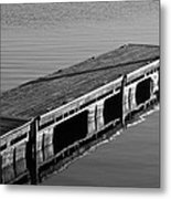 Fishing Dock Metal Print