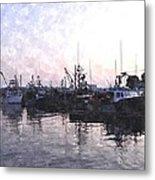 Fishing Fleet Ffwc Metal Print