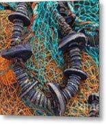 Fishing Gear Metal Print