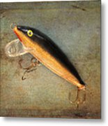 Fishing Lure II Metal Print