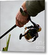 Fishing Time Metal Print