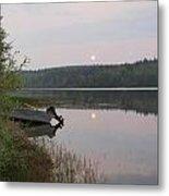 Fishing Tranquility Metal Print
