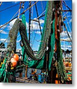 Fishing Vessel Metal Print