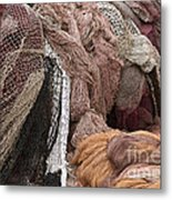Fishnets Metal Print by Frank Tschakert