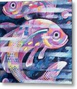 Fishstream Metal Print by Sarah Porter