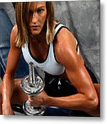 Fitness 27-2 Metal Print
